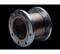 Компенсатор сильфонный осевой Ду50 Ру16 КСО МG 50-16-60Ф из нерж. стали