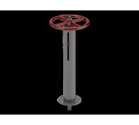 Колонка управления задвижкой Ду50 КР1 ТУ 4859-001-76950431-2006