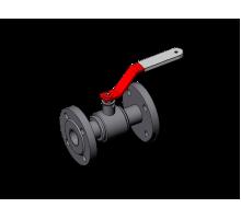 Кран шаровой неразборной КШЗ-16-100 Ду100 Ру16 сталь 12Х18Н10Т класс герметичности А